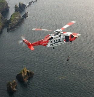 S-92 helicopter based at Sligo Airport