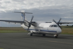 Aer Arann departs Sligo Airport